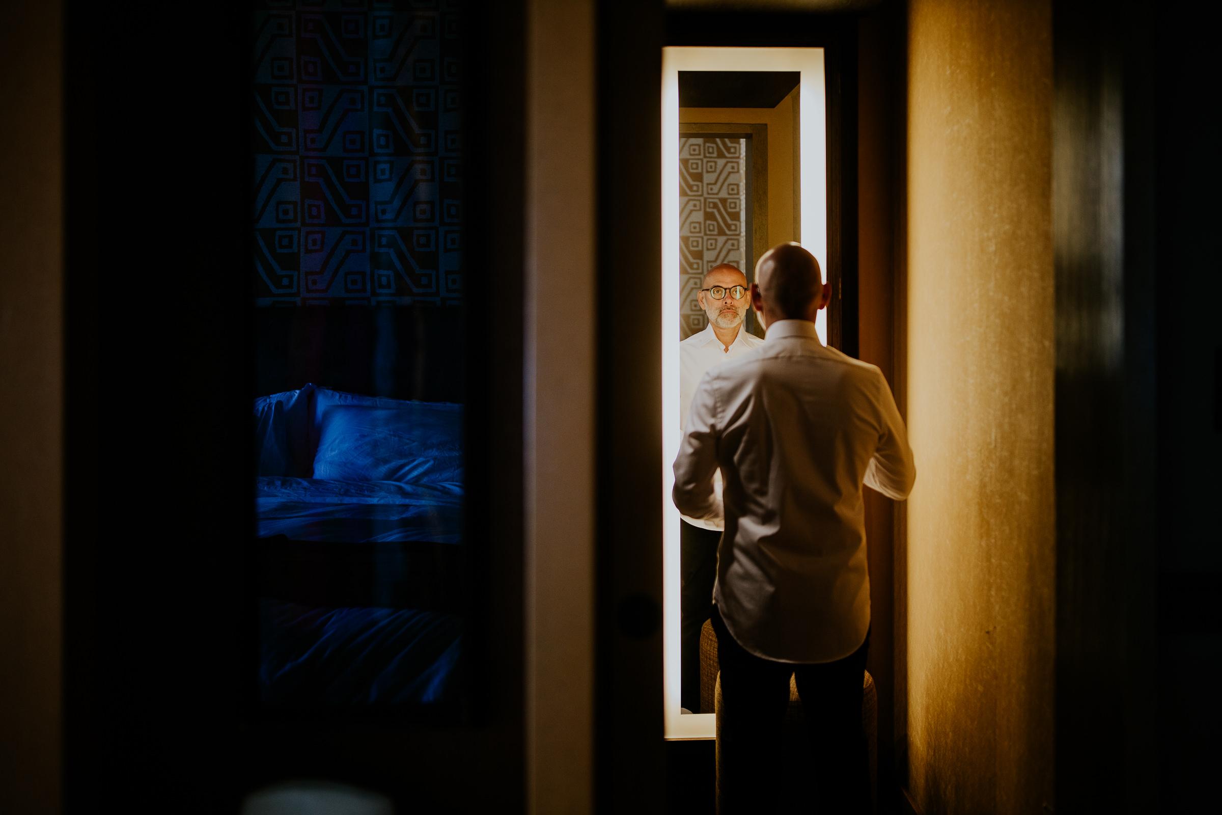 grooms preparation