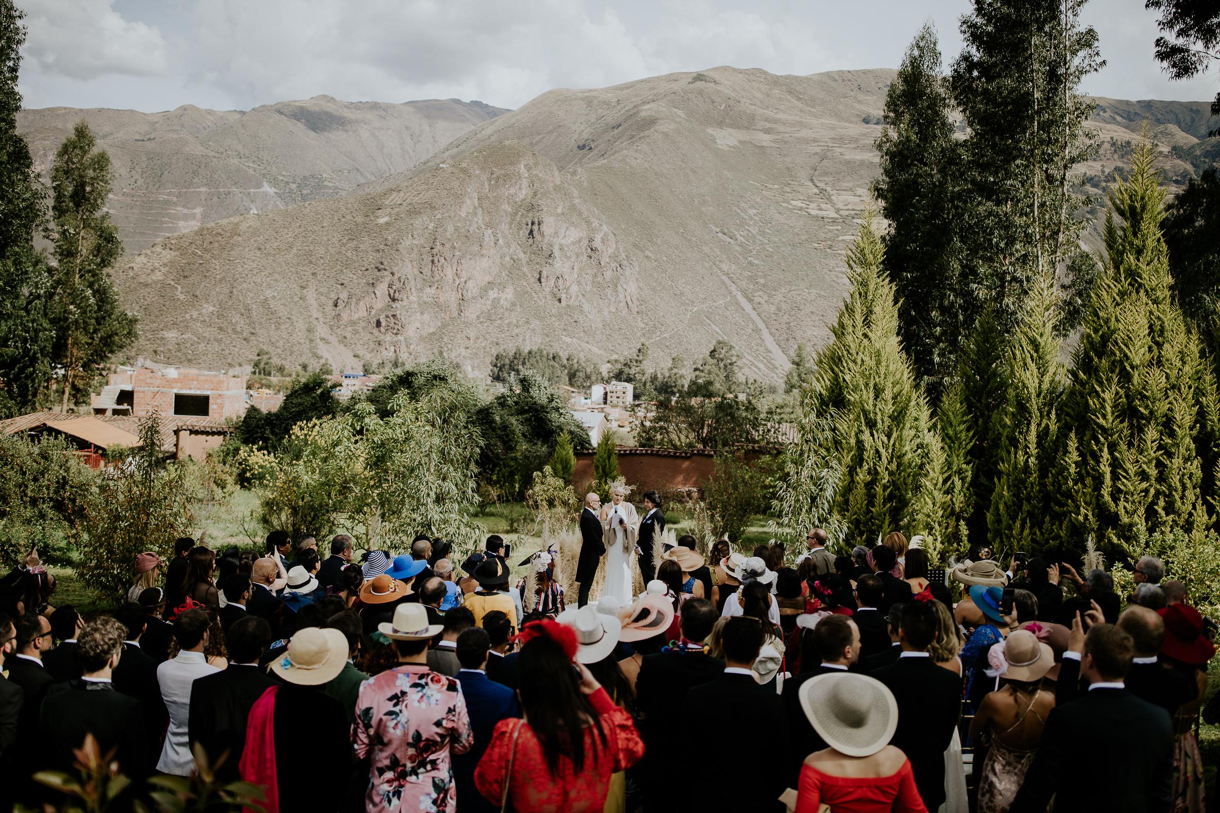 same sex wedding deremony in peru