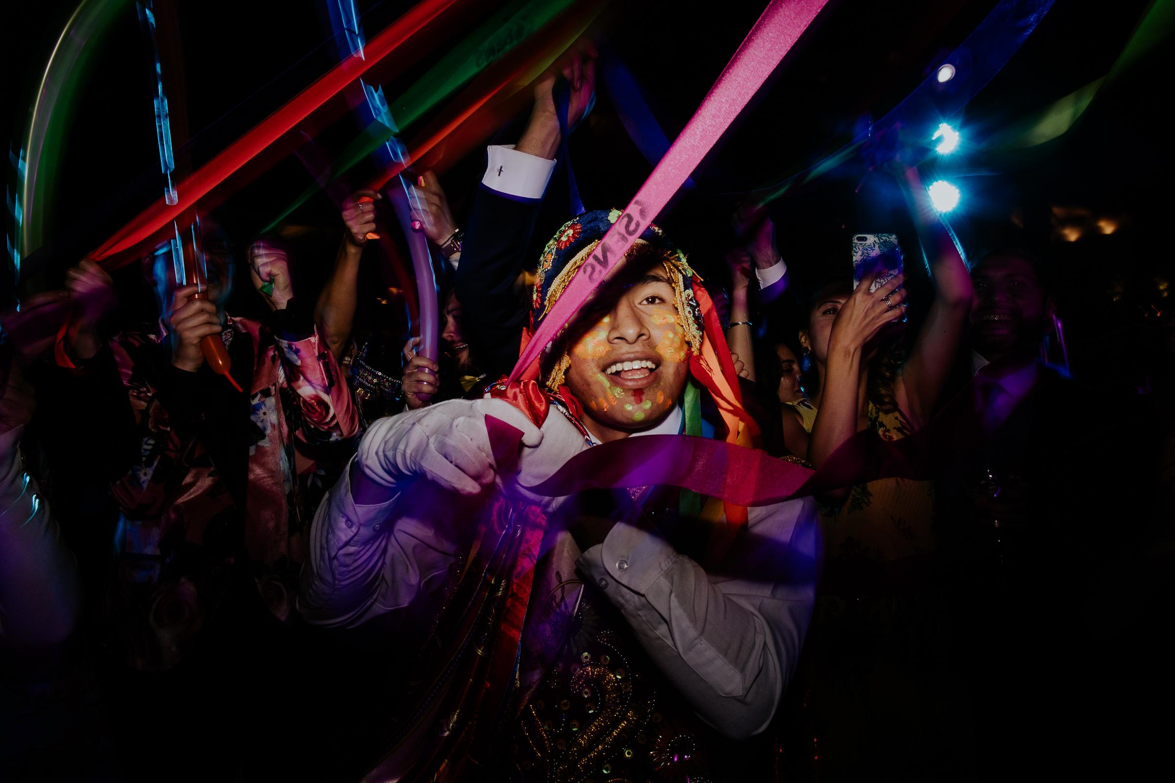 wedding party in peru
